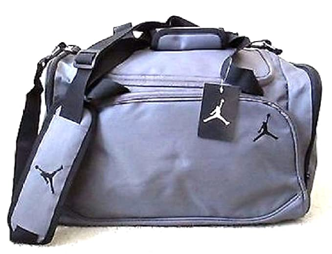 be1954cd6dc Image Unavailable. Image not available for. Color: Nike Jordan Mens  Basketball Gym Duffel Duffle Bag ...