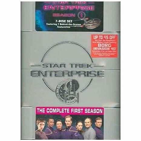 Amazon. Com: star trek enterprise the complete first season.
