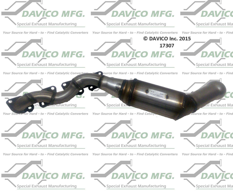 Davico 17107 Catalytic Converter