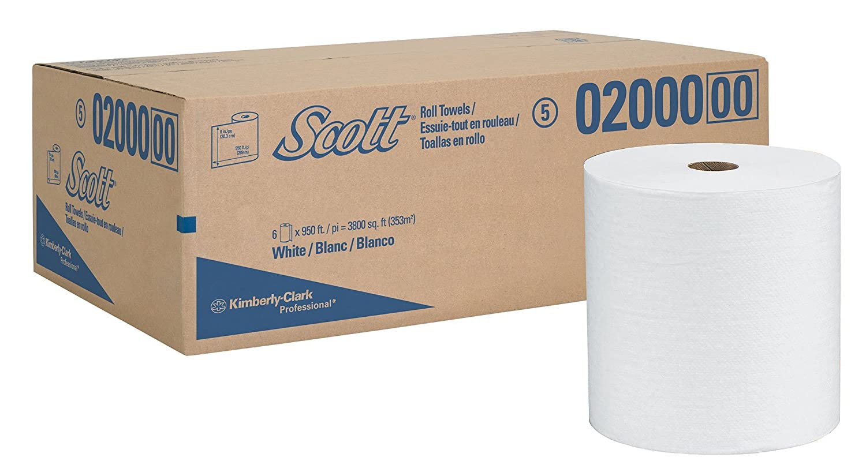 Scott 02.000 alta capacidad duro Rollo Toalla, 8