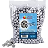 Gumballs in Bulk - Silver Gumballs for Candy Buffet- Mini Shimmer Gumballs 1/2 Inch - Bulk Candy 2 LB