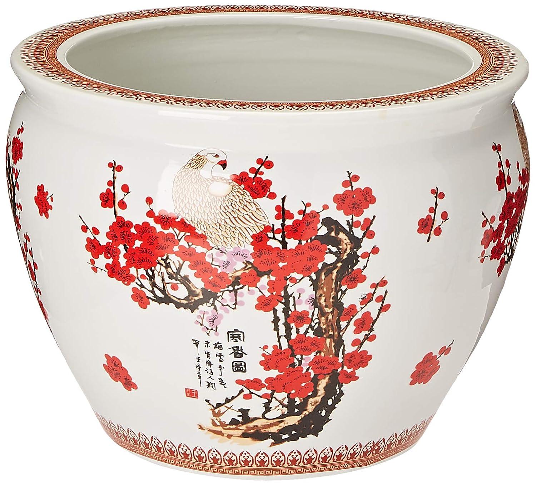 金魚鉢で桜デザインinホワイト 16