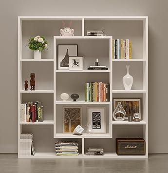 Bookcase Venus Room Divider Free Standing Shelving Unit for