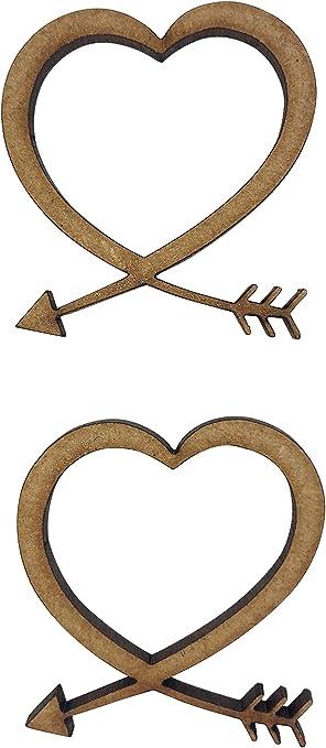 Formas de flecha de MDF de madera 3mm