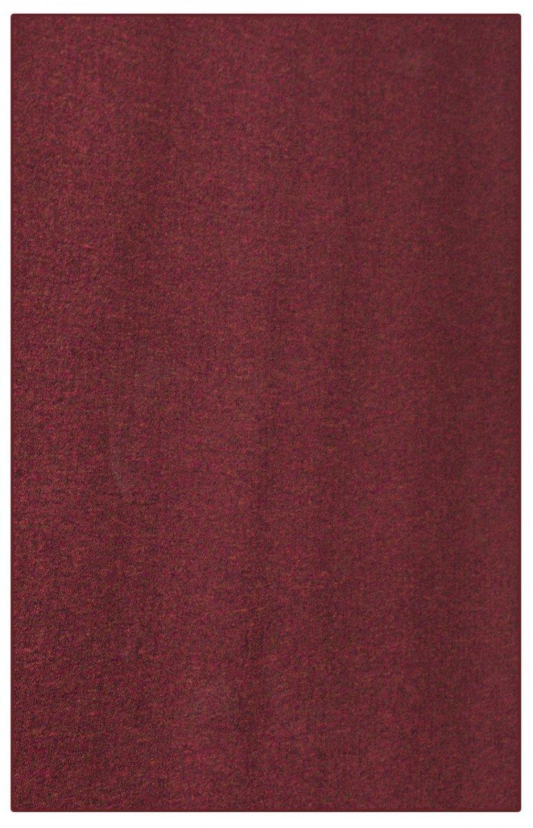 havatex Schlingen Teppich Torronto - Prüfsiegel: Blauer Engel | schadstoffgeprüft und pflegeleicht | robust strapazierfähig | Flur Wohnzimmer Schlafzimmer, Farbe:Rot, Größe:200 x 300 cm