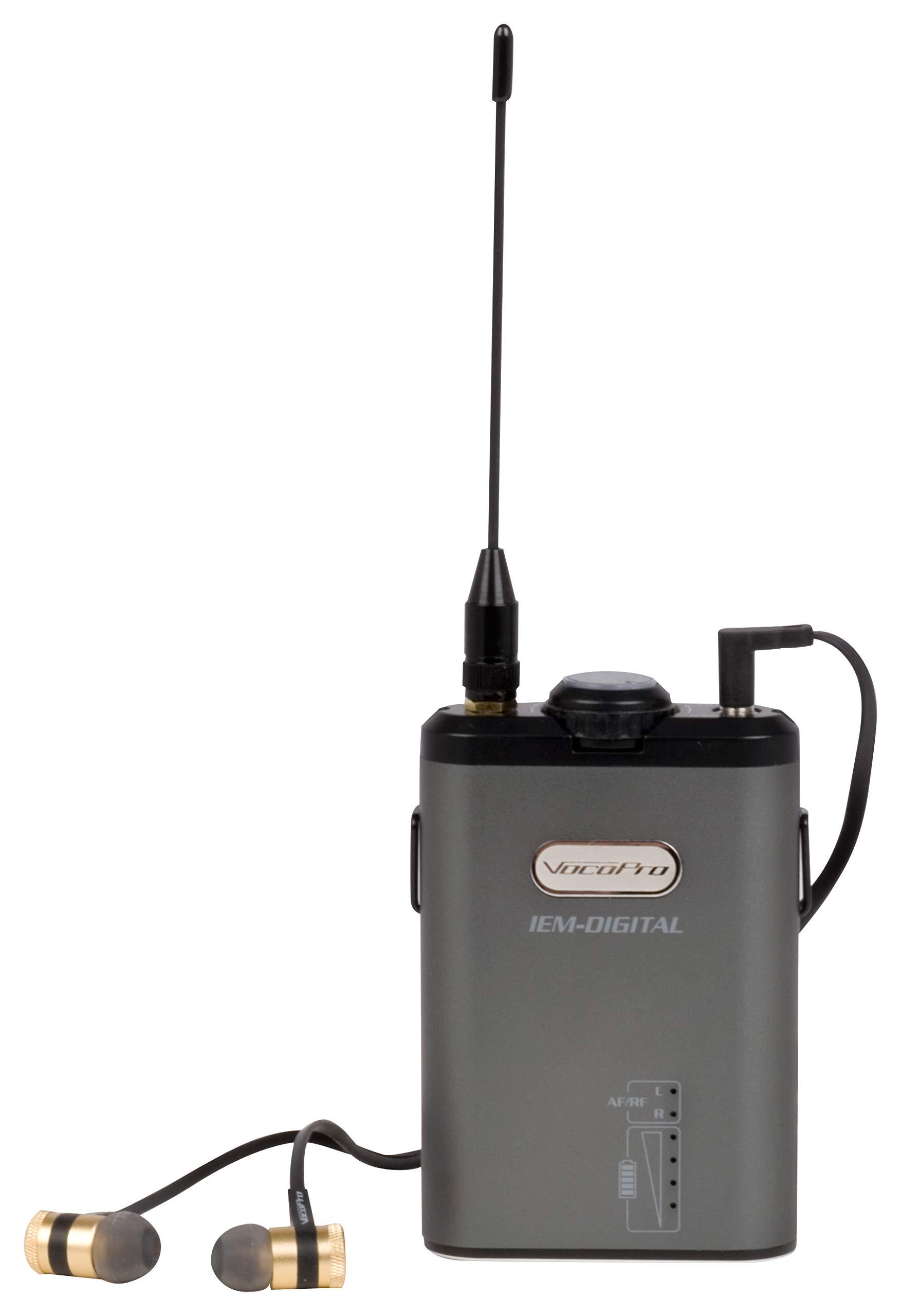 VocoPro In- In-Ear Audio Monitor Receiver (IEM-Digital
