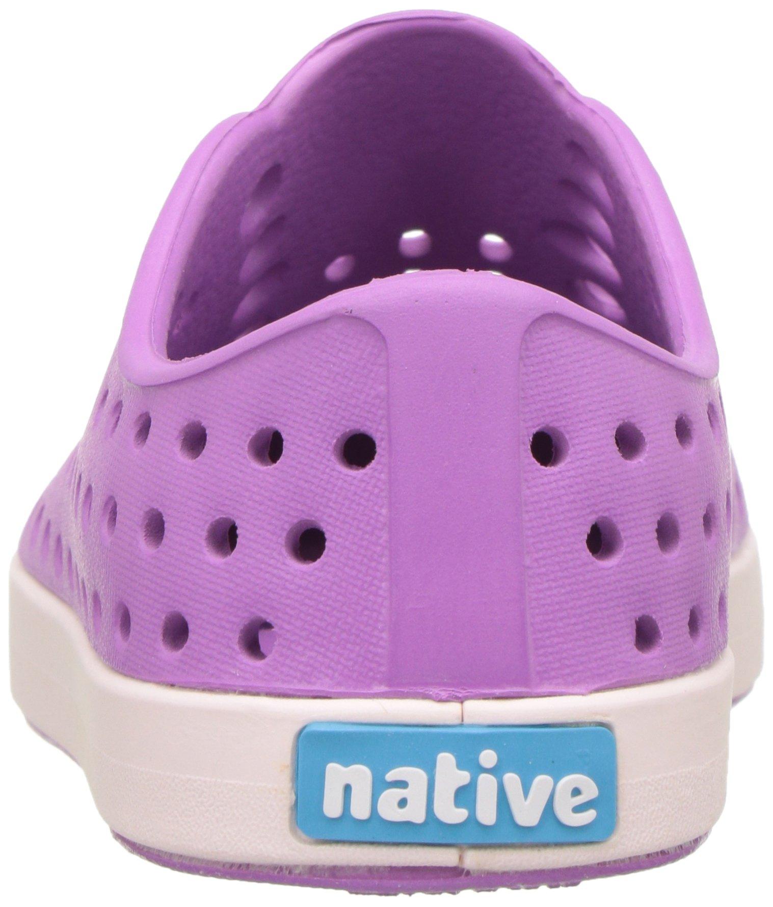 native Kids Jefferson Water Proof Shoes Peace Purple Milk Pink 10