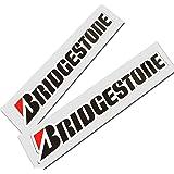 ! Bridgestone Texto Sponsor Gráficos Pegatinas Pegatinas X 2Medium