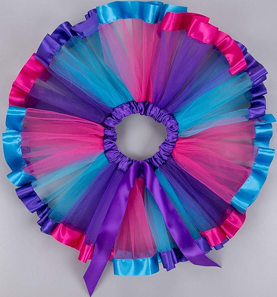 Las niñas Falda del tutú del Arco Iris, Danza del Ballet de la ...