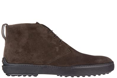 601d586a2 Image Unavailable. Image not available for. Colour  Tod s Men s Suede  Desert Boots lace up Ankle ...
