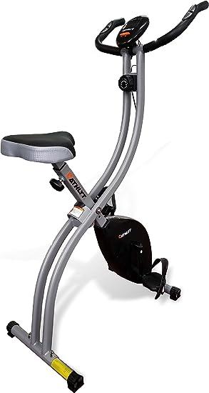 Athlyt - Bicicleta estática, negra: Amazon.es: Deportes y aire libre