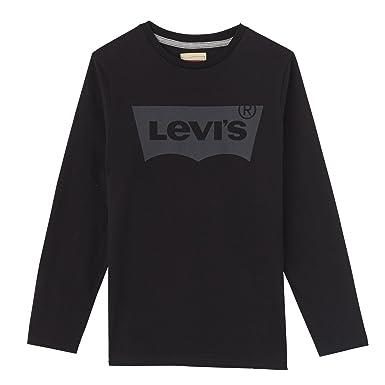 4fb118f1d0bd Levi s Kids Jungen T-Shirt Ls-Tee Nos  Amazon.de  Bekleidung