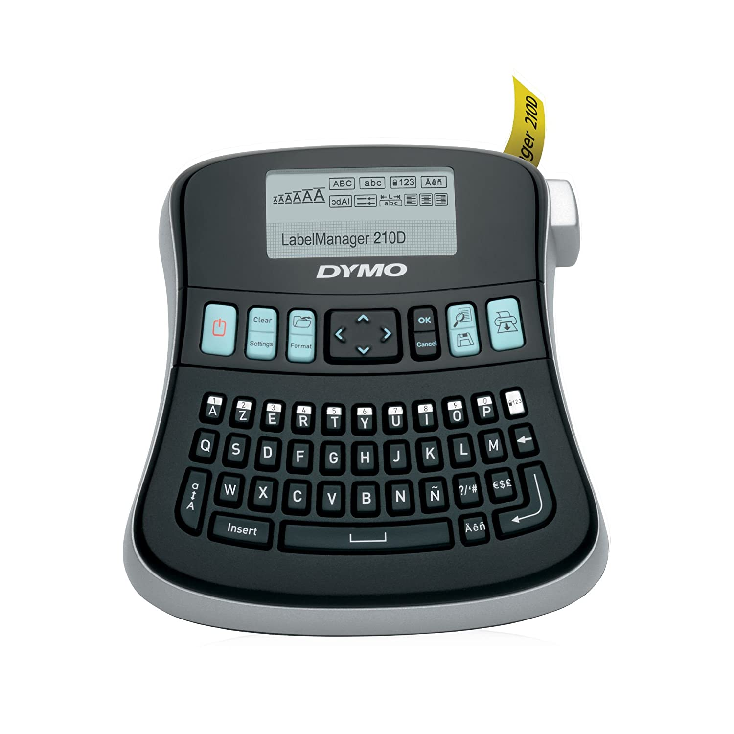 Color printing label maker - Amazon Com Dymo Labelmanager 210d All Purpose Label Maker With Large Display And Qwerty Keyboard 1738345 Printer Labels Electronics