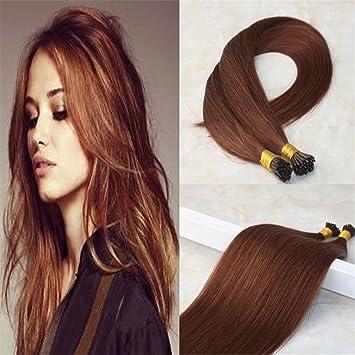 Amazon Com Hairdancing 24 Dark Auburn Brown Color 33 Fusion Hair