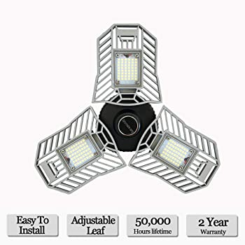 Mopzlink 60-watt Standard LED Garage Ceiling Light