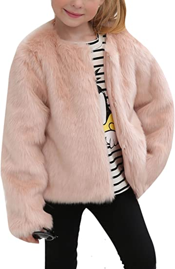 uk store really cheap best sell Amazon.com: Girls Winter Warm Faux Fur Rabbit Fake Short Long ...