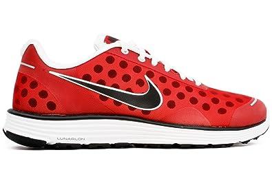 NIKE Lunarswift + 2 Running Shoes Men's 11 (Team red /Black-White) Dots