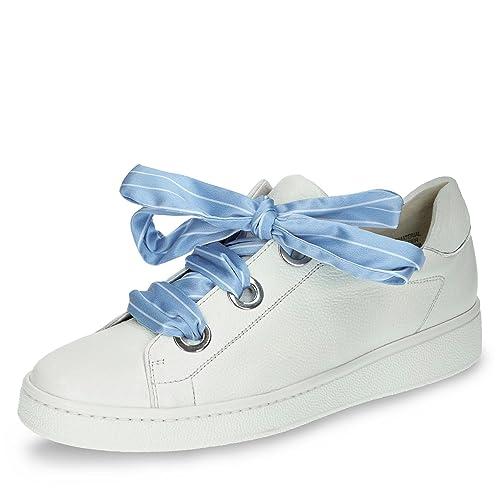 Para 002 Zapatos Mujer De Paul 08 Cordones Green 4575 Piel Lisa rdQCoexBWE