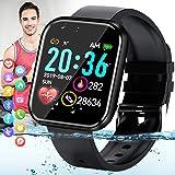 Pradory Smart Watch,Fitness Watch Activity Tracker with Heart Rate Blood Pressure Monitor IP67 Waterproof Bluetooth Smartwatc