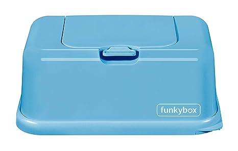 Caja para Toallitas Azul Pastel