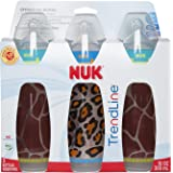 NUK TRENDLINE ANIMAL PRINTS BOTTLE, 3 Count, Boy Animal Prints,,10 Ounce (Discontinued by Manufacturer)