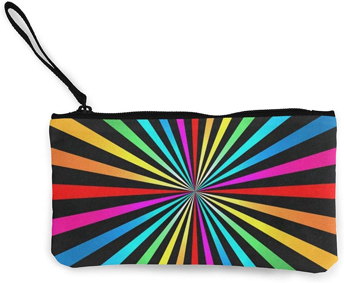 Coin Purse Abstract Stripes...
