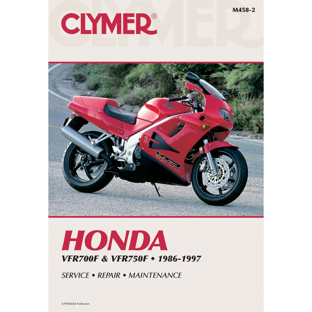 Amazon.com: Clymer Repair Manual for Honda VFR700F VFR750F 86-97: Automotive