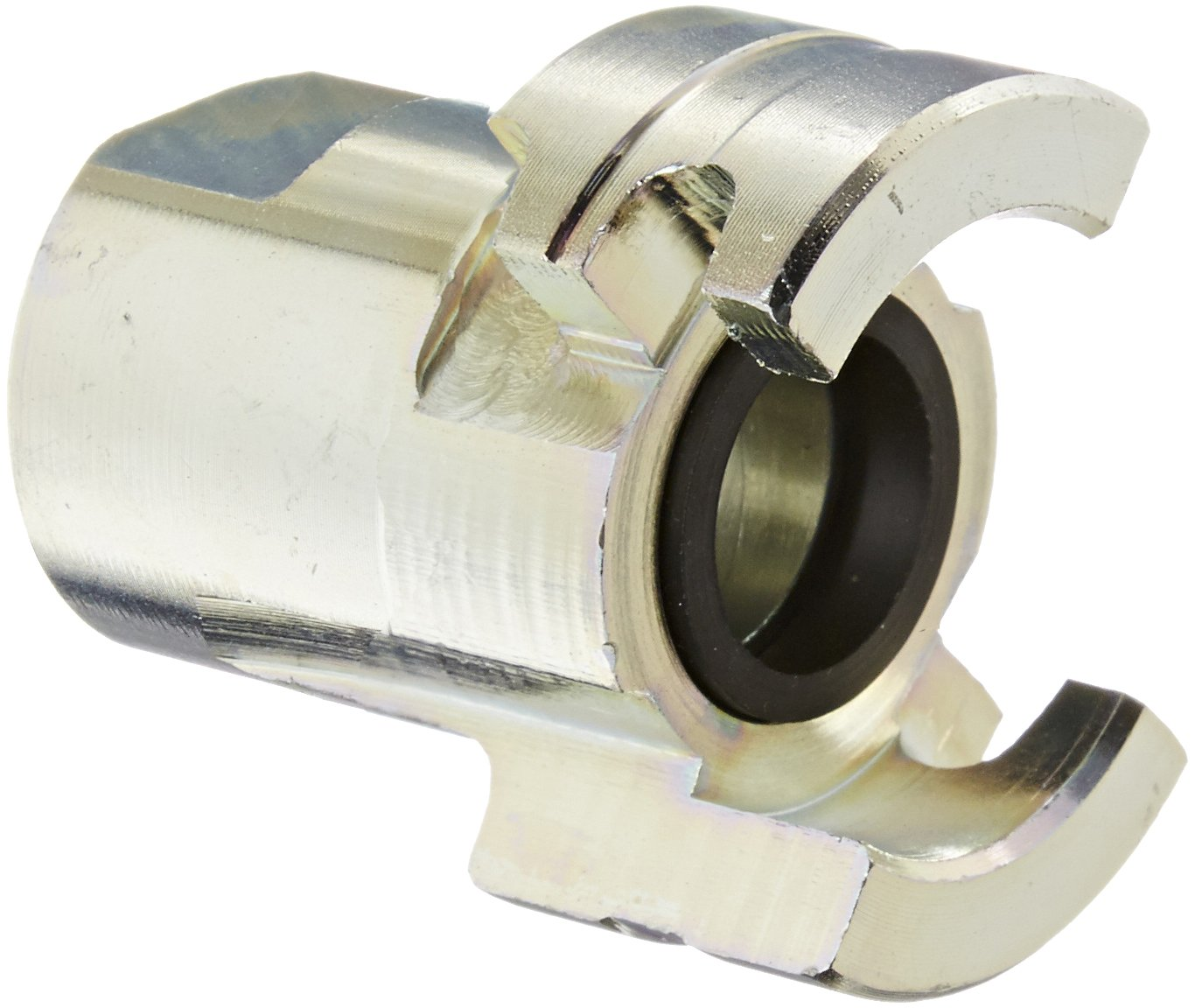 Quick-Acting Coupler Dixon Valve PF6 Plated Steel Dual Lock Air Fitting 1//2 Coupling x 3//8 NPT Female Thread 1//2 Coupling x 3//8 NPT Female Thread Dixon Valve /& Coupling