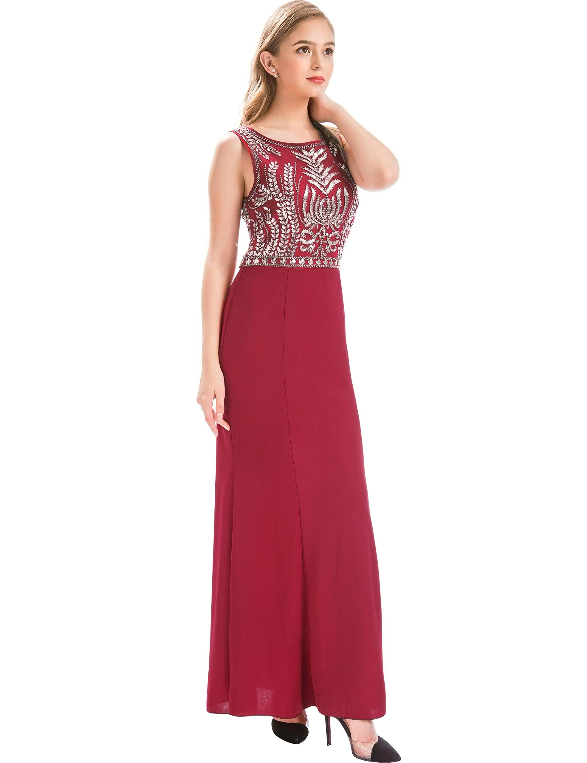 d96542631b3 Silver Glitter Long Prom Dress - Data Dynamic AG
