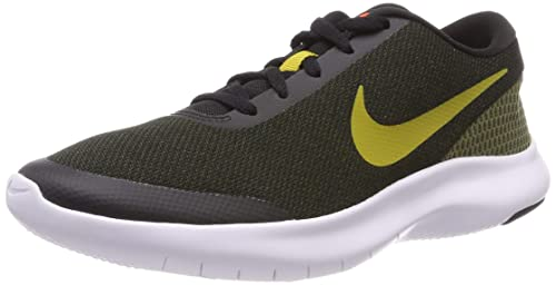 cdcb2852f02e NIKE Men s Black Olive Flex Experience RN7 Running Shoes (908985 015) - 10