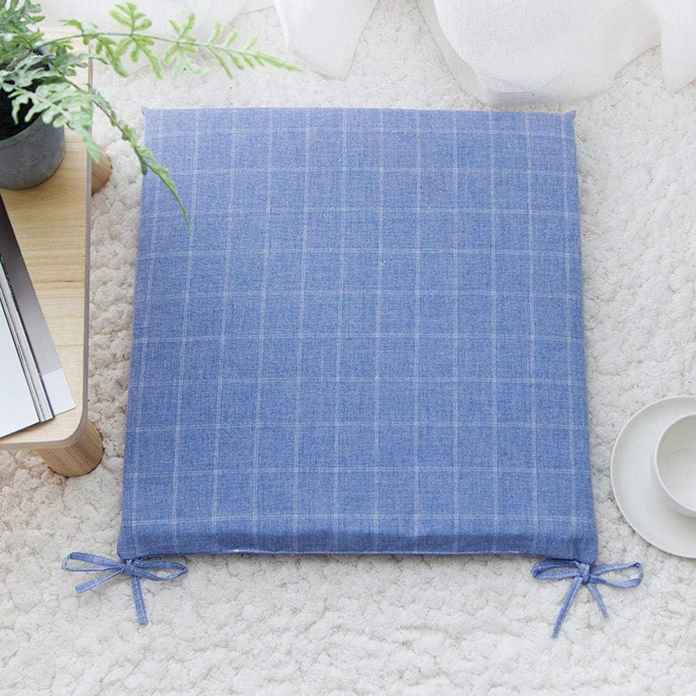 TOOM24K - Silla de Ordenador portátil de algodón y Lino, para Oficina, casa, Coche, Silla de Ruedas