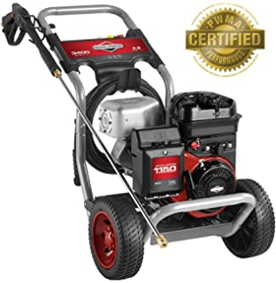 Amazon com : Briggs & Stratton 20542 Elite Series 3 2-GPM 3300-PSI