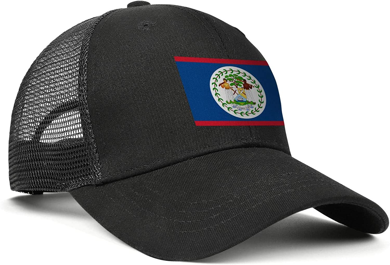Cocos Keeling Islands Coat of Arms Womens Mens Mesh Vintage Cap Adjustable Snapback Summer Hat