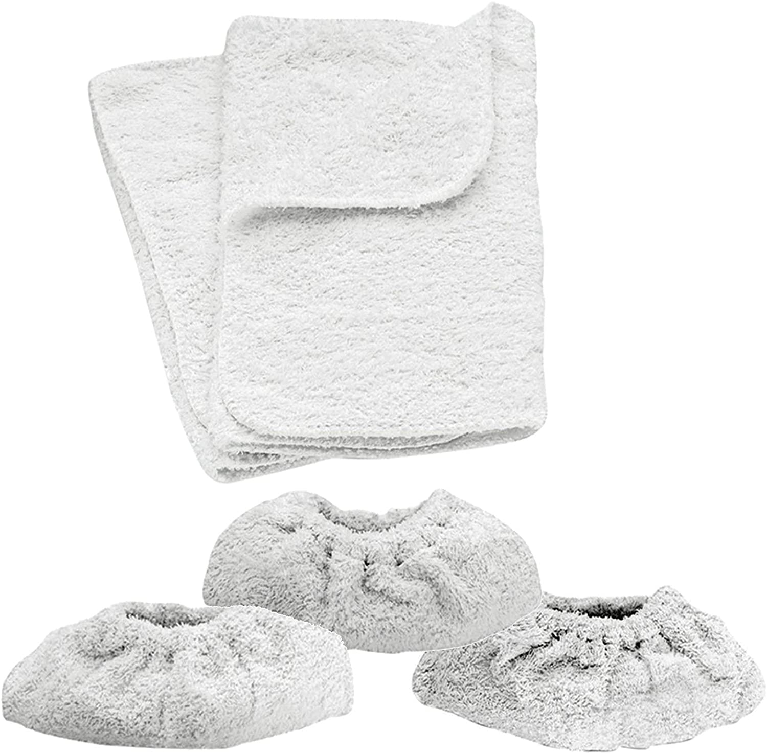5 x KARCHER SC1002 Steam Cleaner Terry Cloth Cover Pads Hand Tool Cleaning Pad