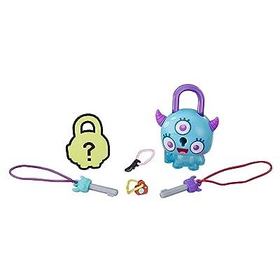 Lock Stars Basic Assortment Horned Teal Monster -- Series 1: Toys & Games