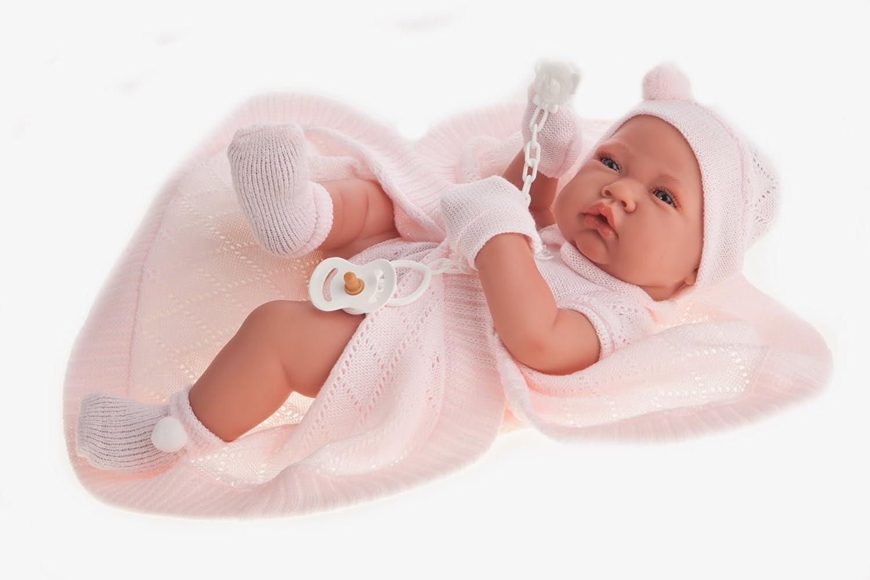 Antonio Juan Puppe Baby Reborn Große Babypuppe Babypuppe Mädchen Zoe 42cm Antonio Juan Spain AJ5064