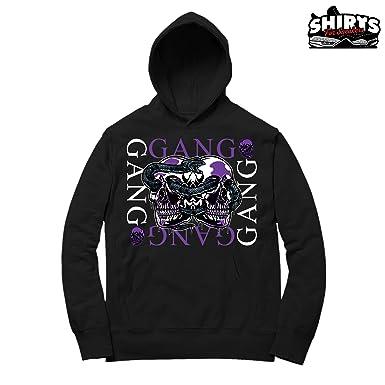 Concord 11 Gang Gang Hoodie To Match Jordan 11 Concord Sneakers