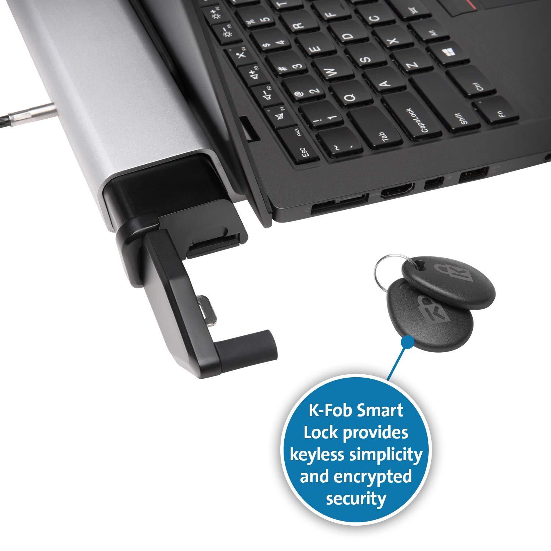 K66635WW Kensington MacBook and Thin Laptop Locking Station with K-Fob Smart Lock