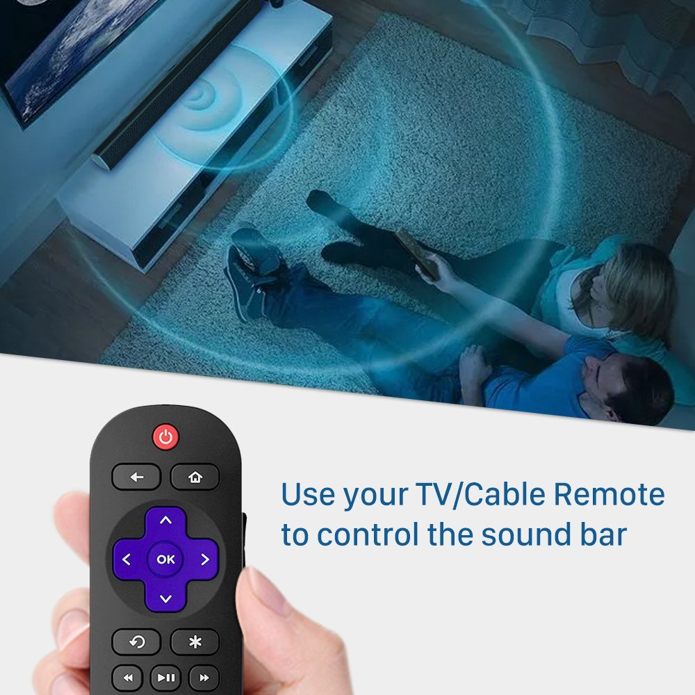 Soundbar, MEGACRA TV Sound Bar with Dual Bass Ports: Amazon.co.uk ...