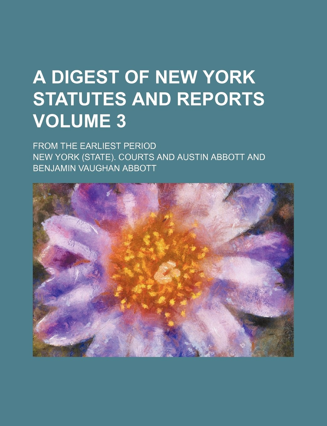 A digest of New York statutes and reports Volume 3 ; from the earliest period ebook