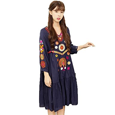 Kebinai Dresses Women Mexican Dresses New Runway Dress People Luxury