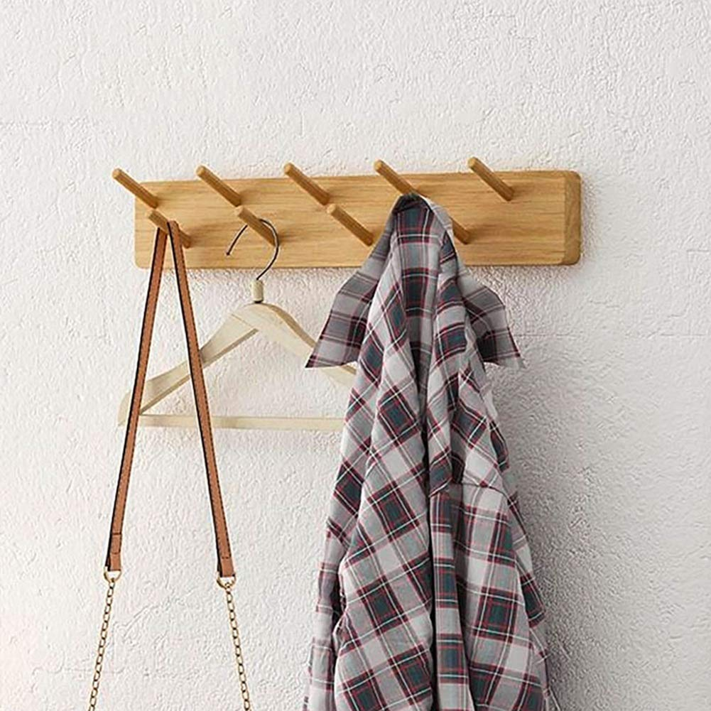 Amazon.com: Wall Mounted Coat Rack Door Hook Hanger Wall ...
