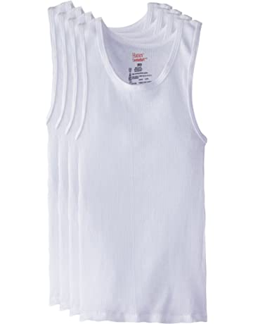 fd177497a37677 Hanes Boys  5 Pack Ultimate Comfortsoft Tank