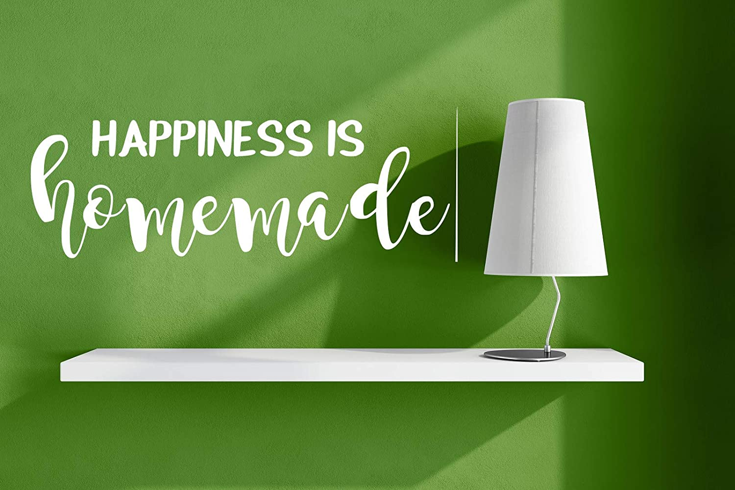 Happiness is Homemade(White) Wall-Decal 6
