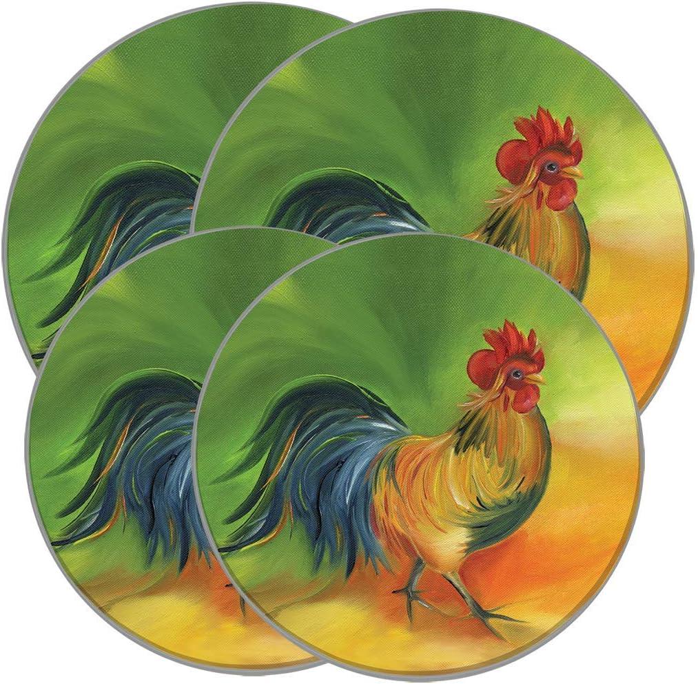 Rooster Doodle Doo - Range Kleen Burner Cover for Stove / Range