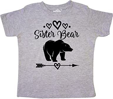 inktastic I Love Being a Little Sister-Hearts and Arrow Toddler T-Shirt