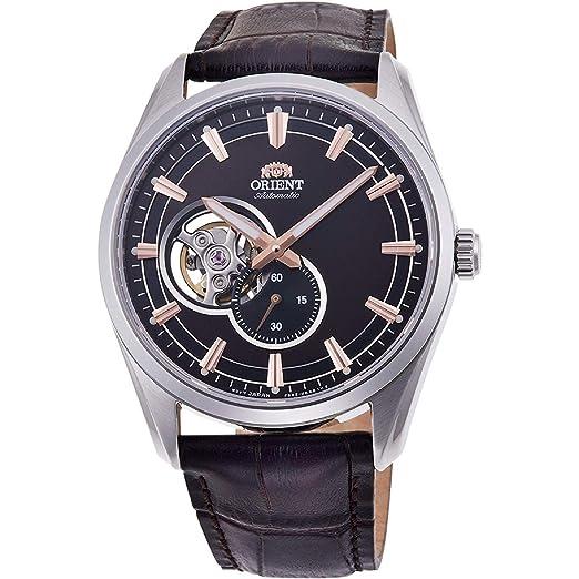 Orient Reloj Analógico para Hombre de Automático con Correa en Cuero RA-AR0005Y10B: Amazon.es: Relojes