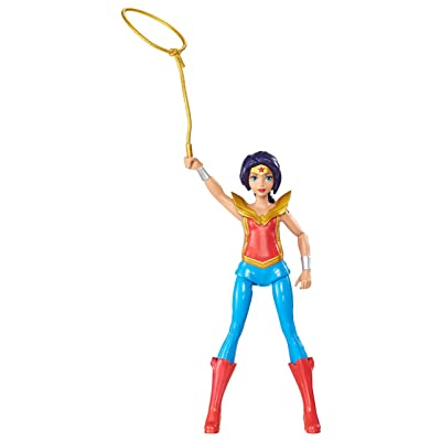 Mattel DC Super Hero Girls: Hero Action Wonder Woman Dolls: Toys & Games