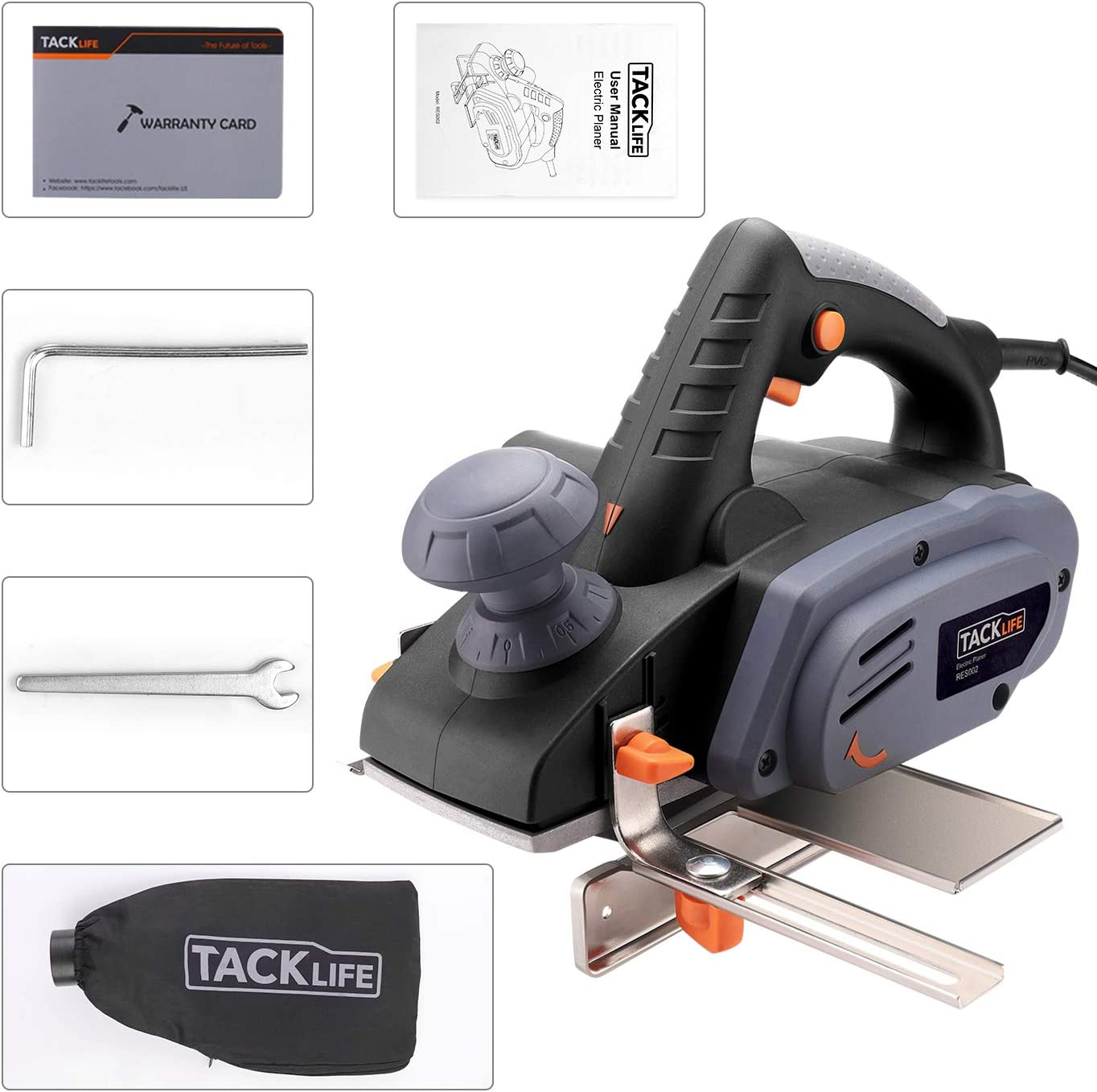 TACKLIFE RES002 Electric Hand Planers product image 9