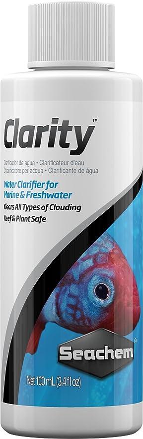 Seachem Clarity - Clarificador de Agua: Amazon.es: Productos para mascotas